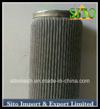 Cartucho do filtro do aço inoxidável, filtro de engranzamento tecido do fio