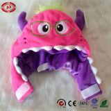 Los ojos de la felpa tres ponen verde el juguete suave del sombrero del regalo del bebé de Comfortalbe