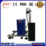 Erstklassiges 30W Portable Fiber u. CO2 Metal Non-Metal Fly Laser Marking Machine für Food Package