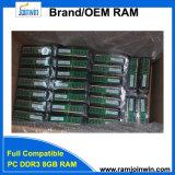 Het werk met Al Motherboards 512MB*8 240pin 1.5V 8GB DDR3 PC1600 RAM