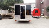 Cocina móvil Van de la ventana de cristal de desplazamiento