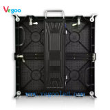 Visualización de LED de alquiler del funcionamiento a todo color de interior de la etapa del Vg 3.91m m