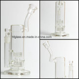 Nuovi arrivi di fumo di vetro del tubo di acqua 12 pollici di Mobius con la tabella Perc della vasca di gorgogliamento da 60 millimetri