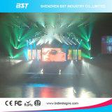 La visualización de LED de interior inconsútil del alquiler del alto contraste de 3m m, pantalla grande del LED a presión el aluminio de la fundición