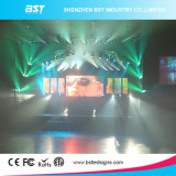 Sin fisuras 3mm alto contraste cubierta Alquiler de pantalla LED, LED pantalla grande Die Casting aluminio