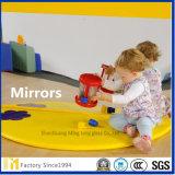 miroir argenté décoratif clair de mur de 4mm, miroir de bébé