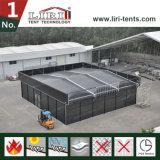 Шатер крыши 15X15m черной структуры кубика цвета термо- для напольного случая