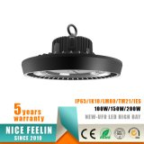luz elevada do louro do diodo emissor de luz do UFO 150W-Newest com garantia 5years