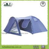 4 Personen-doppelte Schicht-kampierendes Zelt mit Wohnzimmer