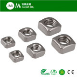 Verzinkte galvanisierte überzogene Kohlenstoffstahl-Vierkantmutter (DIN557)