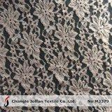 Tela grossa do laço da forma do algodão de matéria têxtil (M3379)