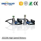 Pista popular Jd2206A de la marca del Galvo del laser de la velocidad para el dispositivo de la marca del laser del CO2
