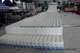 Folha resistente ao calor ondulada da telhadura do PVC do melhor plástico revestido da cor do tamanho