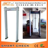 Portello impermeabile del metal detector del portello del metal detector di progressione di 6 zone