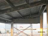 Гальванизированный алюминием пакгауз стальной структуры стальной плиты цвета