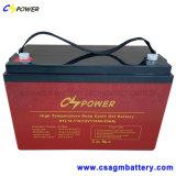 Batterie solaire 12V 300ah de cellule sèche de cycle profond libre de maintenance