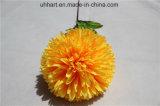 Sfera artificiale del fiore di colore giallo del Hydrangea del fiore di cerimonia nuziale