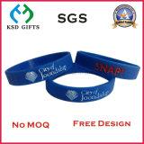 Wristband promozionale del silicone dei regali con il marchio di Debossed