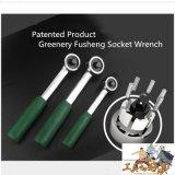 6개의 볼베어링 구조를 가진 세계에 의하여 Wrachet 특허가 주어지는 렌치