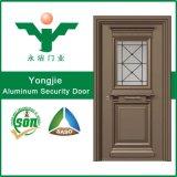 Porte en aluminium affleurante de garantie d'entrée
