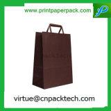 Luxus bereitete hochwertiger verdrehter Griff-Einzelverkaufs-kaufenden Papierbeutel auf