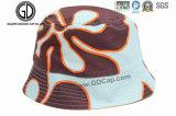 Kundenspezifischer Form-Schaumgummi-Stickereisun-Wannen-Hut mit grossem Rand