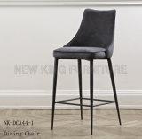 Moderner hellgrauer Aufenthaltsraum-Leder-Küche-Stab-Stuhl (NK-DCA038-1)