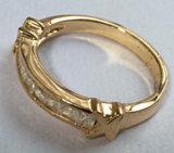 Ring van de Steen van het Glas van de Juwelen van de manier de Multi