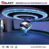Comitato molle/schermo/visualizzazione curva dell'interno/esterna LED di alta definizione di colore completo di Profetional con buona visualizzazione