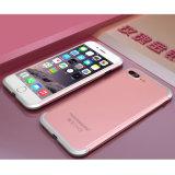 Caixas abundantes do telefone do metal dobro da cor para o iPhone 7/6s/6 mais