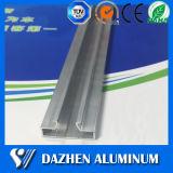 Inserções de alumínio personalizadas da canaleta do preço de fábrica para o perfil do alumínio de Slatwall