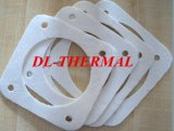 calor da alta qualidade de 6mm - papel refratário de isolamento da fibra cerâmica