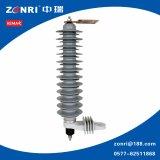 10kv ZnO Polymer Lightning Arrester Hy5ws-16.5 / 50L com Disconector