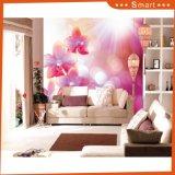 Les ventes chaudes ont personnalisé la peinture à l'huile du modèle 3D de fleur pour la décoration à la maison (numéro de modèle : HX-5-058)