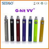 Seego ha brevettato la batteria elettronica del Passthrough di Evod di EGO del MOD del commercio all'ingrosso della sigaretta di serie di Ghit con capacità elevata