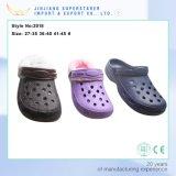 Хлопок самых последних ботинок прочный Holey закупоривает Clogs сада ЕВА