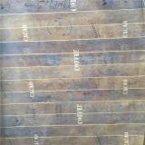 Tiras rectas papel de patrón con impresiones para laminar piso