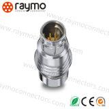 Impulso impermeável do metal de IP67 IP68 - puxar o conetor de cabo de Circualr