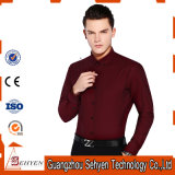 工場価格OEMの綿の形式的で完全な袖の人のビジネスワイシャツ