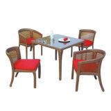 Europeo que restablece la silla del sofá de la rota de los muebles de la sala del jardín de los cafés de las maneras y el conjunto antiguos del vector