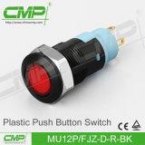 플라스틱 단추 스위치 (MU12P-HJZ-D-W-BK)
