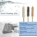Limpieza Roces del arma que buscan las esponjas de la limpieza del arma de fuego de las escobillas del rifle