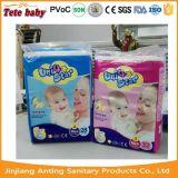 Самая дешевая устранимая фабрика Fujian изготовления пеленки младенца звезды блока 4