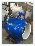 (TRQ961F) Vávula de bola completamente soldada eléctrica del gaseoducto Dn800