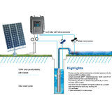 Energía de entrada solar de la bomba de agua de la C.C. 24V 120W