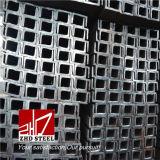 """Azione d'acciaio laminate a caldo della scanalatura a """"u"""" di Q235B"""