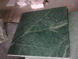 台所のための砥石で研がれた緑の花こう岩Coutertop