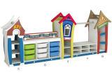 판매를 위한 환경 튼튼한 나무로 되는 아이들 가구 장난감 내각