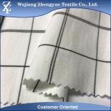 Tessuto di nylon delle culatte/pantaloni di guida di stirata dello Spandex del catione del plaid della saia