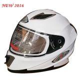 安い低価格の2016の新しいデザイン太字のオートバイのヘルメット